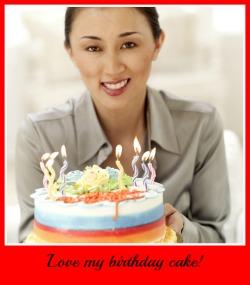 yummy 40th birthday cake