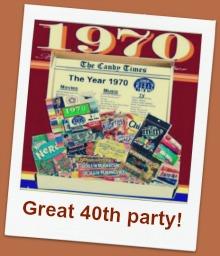 1970s 40th birthday party ideas