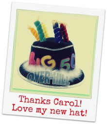 stupid 50th birthday gag gifts