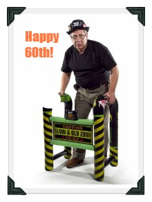 60th birthday humor