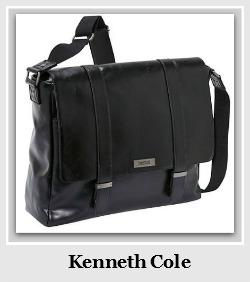 Black Kenneth Cole Messenger Bag