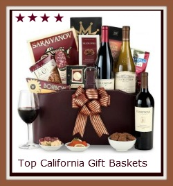 Top California wine gift baskets