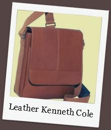 Brown Kenneth Cole Messenger Bag