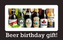 beer gift basket men birthday
