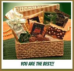 give an appreciation gift basket