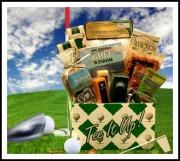 golf gift basket ideas for men
