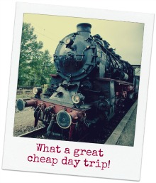 cheap day trips on train
