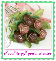 chocolate gift gourmet roses