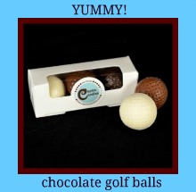 chocolate ladies golf gifts