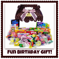 candy fun gift basket