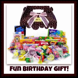 candy fun gift basket