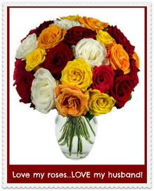 flower gift ideas for wife