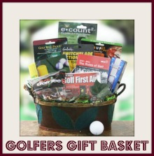 gift baskets for golf lovers