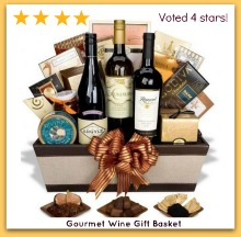 best gourmet wine gift basket