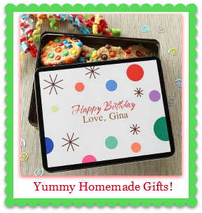homemade chocolate birthday gifts