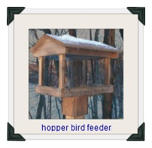 top hopper bird feeder