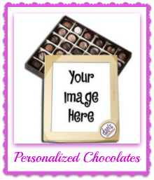 personalized chocolate gift