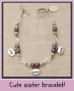 Personalized sister birthday gifts