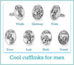 unique cufflinks for men