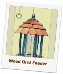 popular wood bird feeder