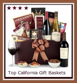 Top California wine gift baskets