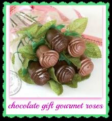 chocolate gift gourmet roses