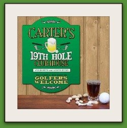 personalized gift for golf lovers