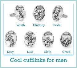 unique cufflinks for men